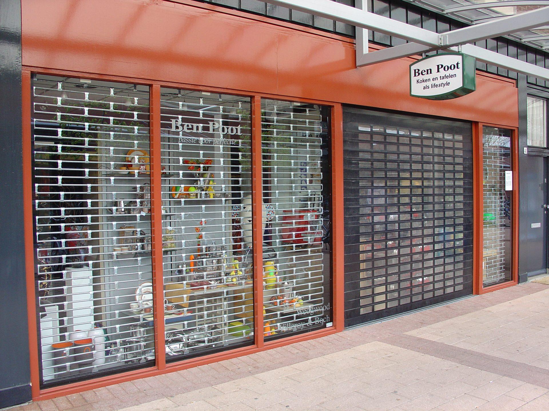 HGD Boerboom - Rolluik Ben Poot winkel
