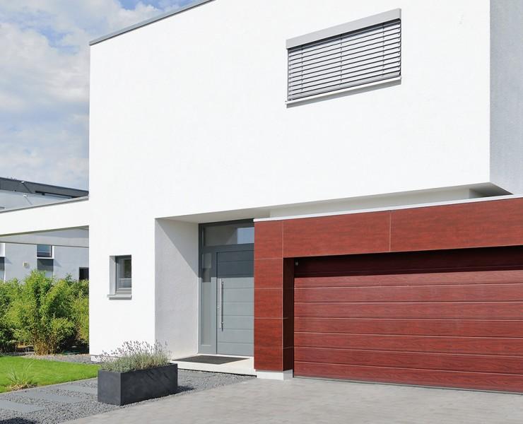 HGD Boerboom - sectionaaldeur rood