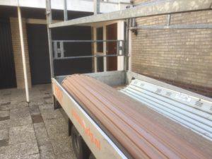 HGD Boerboom - Sectionaldeur geplaatst - oude deur